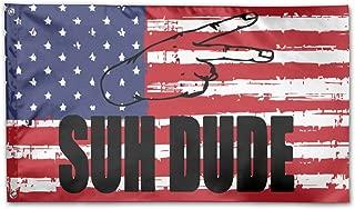 UNSTARFLAG American Flag by U.S. Veterans Owned Suh Dude Flag 3x5 Ft