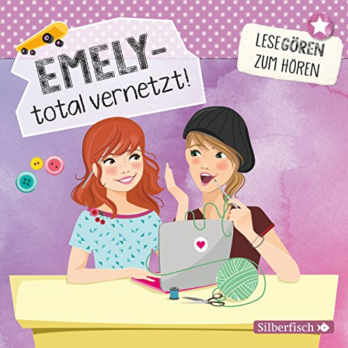 Emely - total vernetzt! audiobook cover art