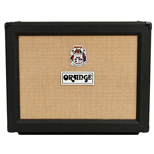 Orange Amplifiers PPC Series PPC212-C 120W 2x12 Closed Back Guitar Speaker Cabinet Black Straight
