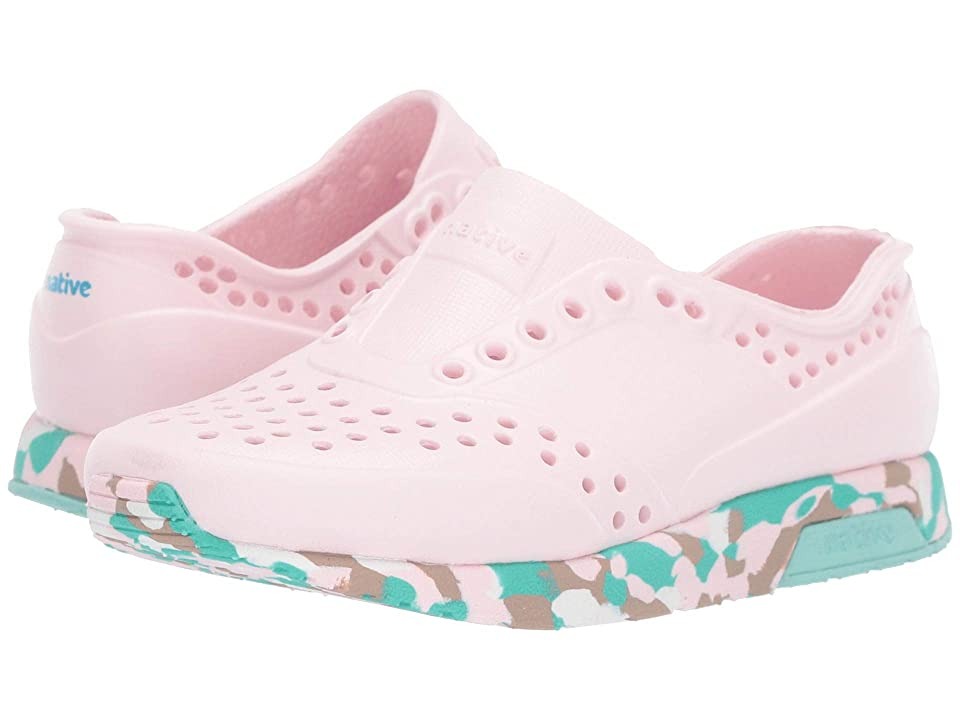 Native Kids Shoes Lennox (Toddler/Little Kid) (Blossom Pink/Konpeito/Hydrangea Blue) Girls Shoes