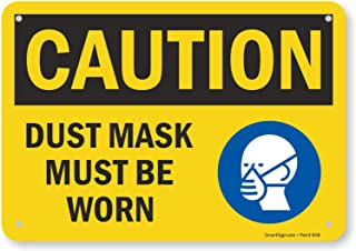 Best dust mask must be worn sign Reviews
