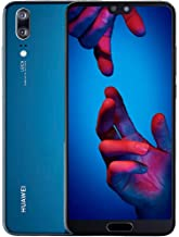 Huawei P20 128GB Single-SIM (GSM Only, No CDMA) Factory Unlocked 4G/LTE Smartphone (Midnight Blue) - International Version