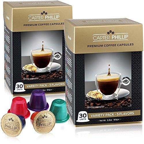 Espresso Capsules Compatible with Nespresso...