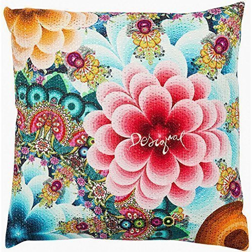 Proud Clothing Cuscino Desigual Mandala Completo di Imbottitura Square Decorative Throw Pillow Case Cushion Cover 18x 18