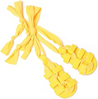 Isbasic Baby Boys Girls Gladiator Sandals Pu Leather Rubber Sole Toddler First Walkers Roman Lace up Beach Sandal Shoes