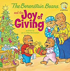 Bear Christmas gifts like The Berenstain Bears and the Joy of Giving Book