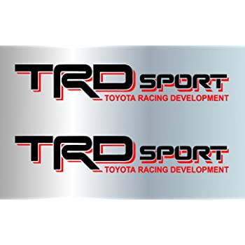 Grey 071 Noa Store Toyota TRD Truck Off Road 4x4 Toyota Racing Tacoma Decal Vinyl Sticker