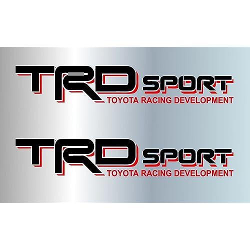 Toyota Trd Decal Sticker Amazon Com
