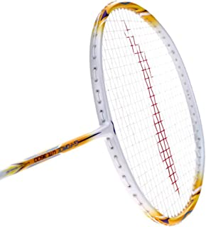 LI-NING Badminton Racket G-Force Series Player Edition Light Weight Carbon Graphite Shaft 78 + GMS with Full Carrying Bag Cover