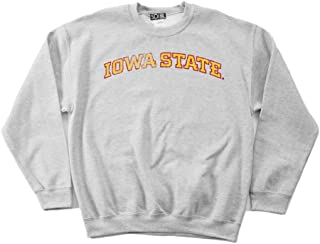 NCAA Iowa State Cyclones 50/50 Blended 8-Ounce Vintage Arch Crewneck Sweatshirt