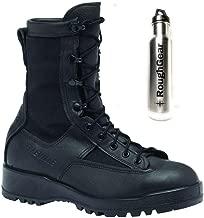 Belleville 700V WP Black Combat Flight Boots Men's Bundle with Bottle