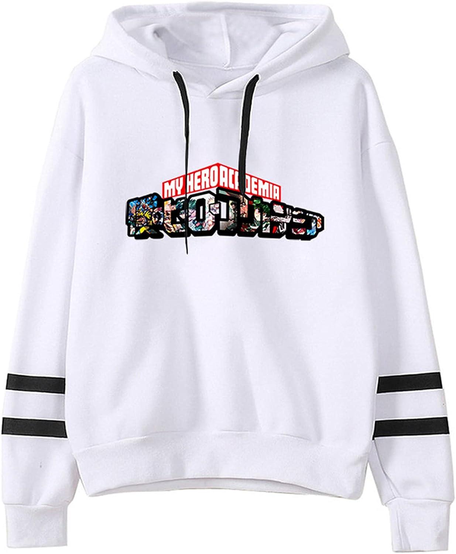 RTGB Popular My Hero Academia Hoodie Long Sleeve Fashionable Loos Bombing free shipping Hooded