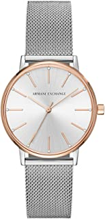 Armani Exchange Women's AX5537 Analog Quartz Silver Watch
