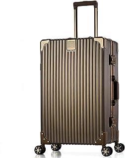 Trolley case Universal Wheel Board case Student Travel case Unisex Durable Golden