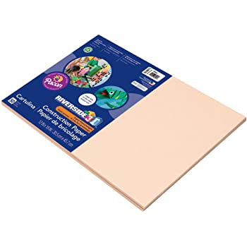 103087 Tan Pacon Tru-Ray Construction Paper 18-Inches by 24-Inches 50-Count