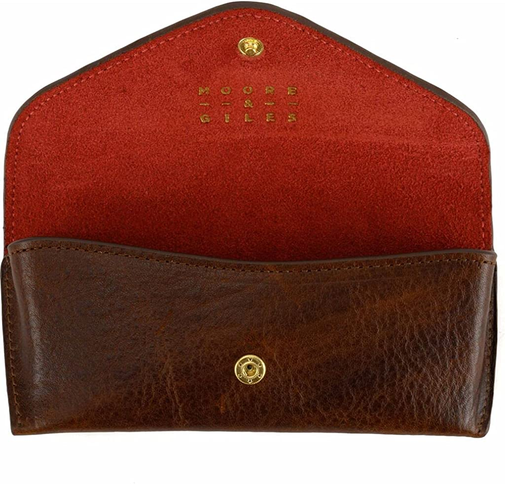 Moore & Giles Eyeglass Case - Red