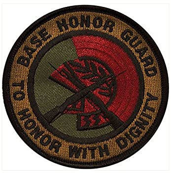 VANGUARD AIR Force Patch  Base Honor Guard - Subdued  Non-REFUNDABLE