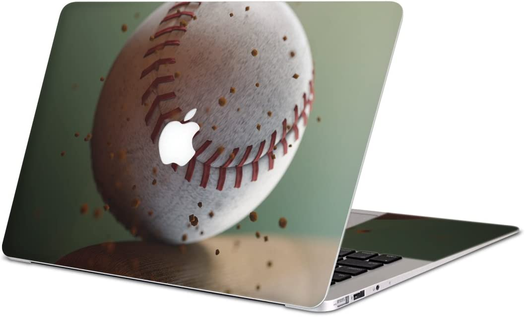 igsticker Skin Decals for MacBook Pro 13 inch 2019/18/17/16(Model A2159/A1989/A1706/A1708) Ultra Thin Premium Protective Body Stickers Skins Universal Cover Baseball bat