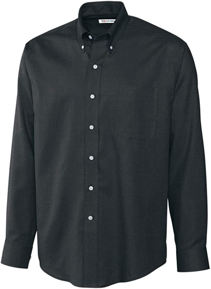 Cutter Buck Baltimore Mall Men's Long Sleeve Popular popular Care Nailshead Easy Shirt Epic