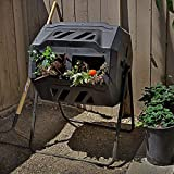 Best Compost Tumblers - FMXYMC Composters Tumbling Or Rotating Outdoor, Large 160L Review