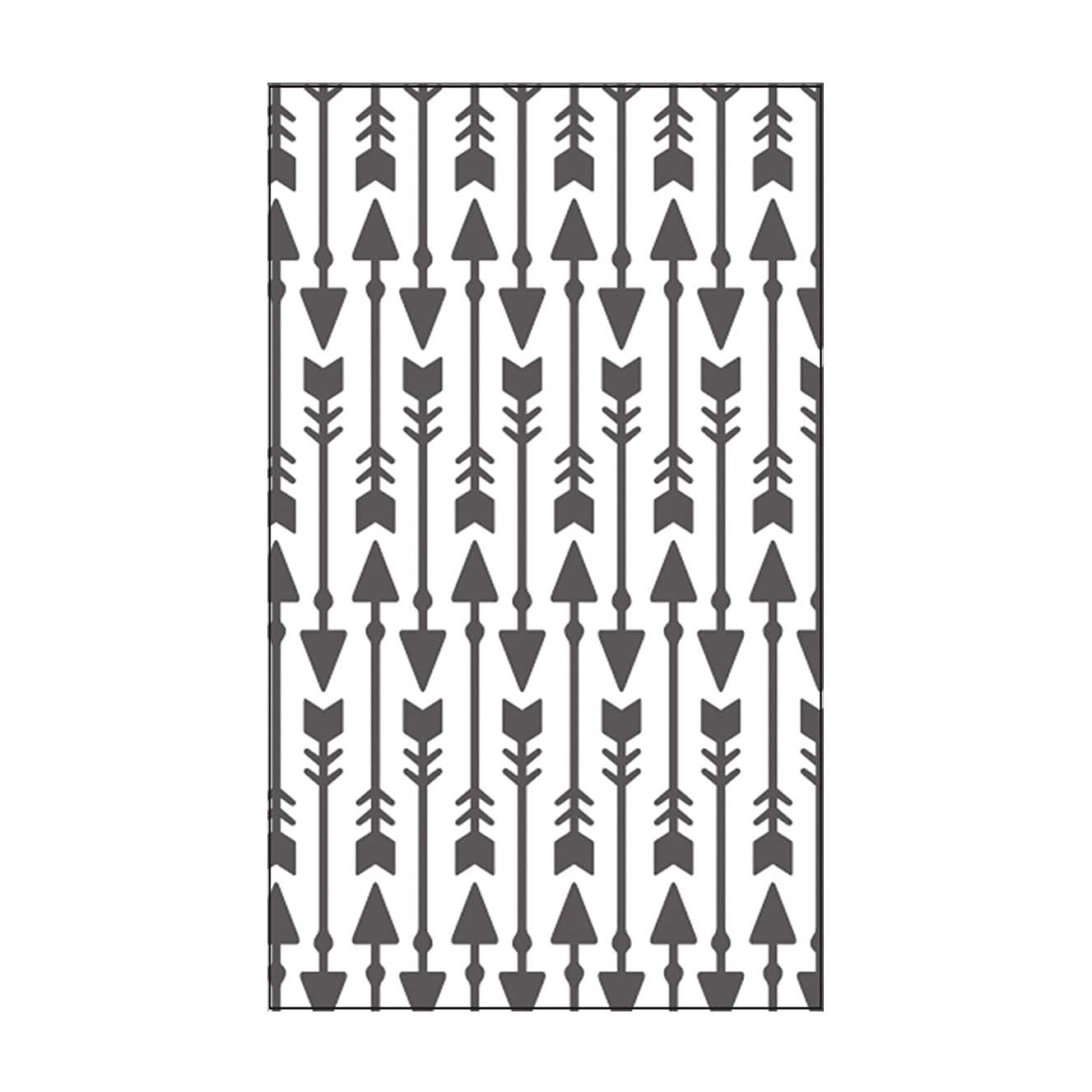 Vaessen Creative Mini Embossing Folder, Ornate Arrows, for Adding Texture and Dimension to Scrapbook Pages, Cards and Other Papercraft Projects, 3 x 5 inches