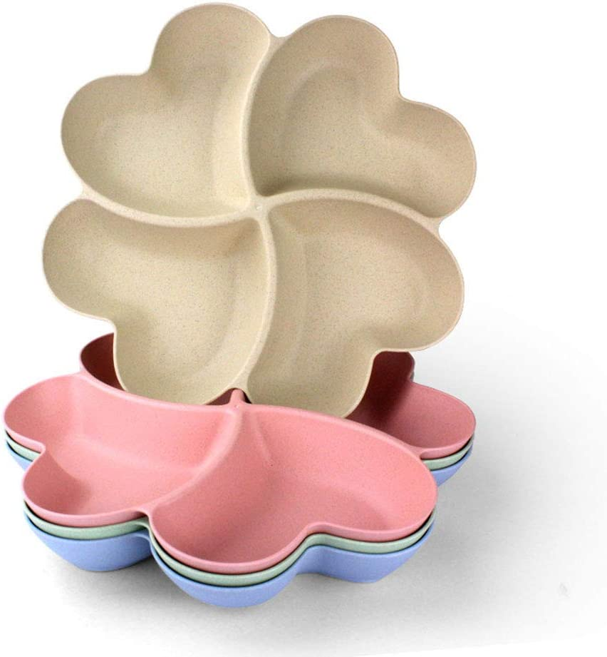 Unbreakable Weekly update Heart Easy-to-use Shaped Party Snacks Tray Pla Appetizer Serving