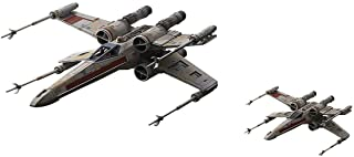 Bandai Star Wars 1/72 & 1/144 Red Squadron X-Wing Starfighter Special Set Model Kit