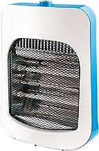 JU FU Calentador, Cuarzo Tubo Calentador de Espacio, Acero Inoxidable Estufa de calefacción Reflector, 400W / 800W Ajuste 2 de Engranajes | (Color : C)