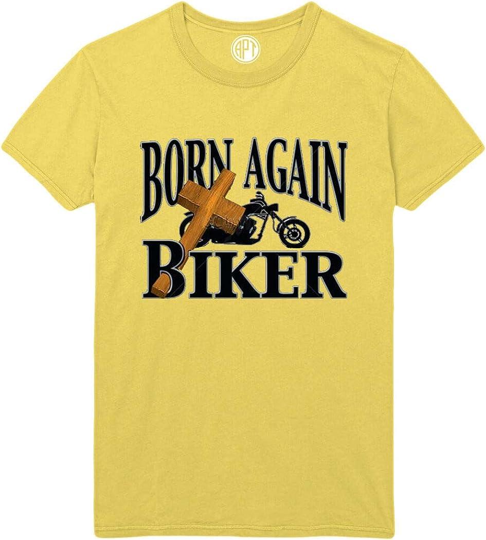 Born Again Biker Printed T-Shirt