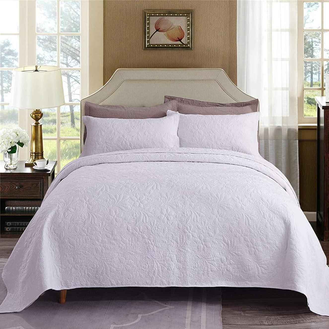 オーストラリア磁気ライバルキルト な 単色 ベッド, 多機能 エアコン-条件付きキルト マット?タタミ 元に戻せる状態 3 個入り 毛布 ベッド カバー-w 250x270cm