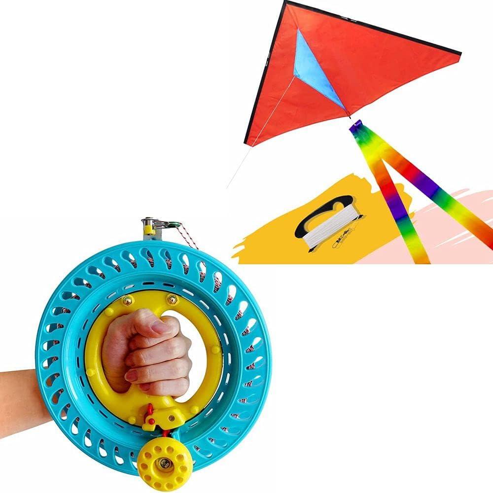 emma 2021 autumn and winter new kites Lockable Kite Regular discount Reel Winder Bundle Dia 8.7inches Fun C