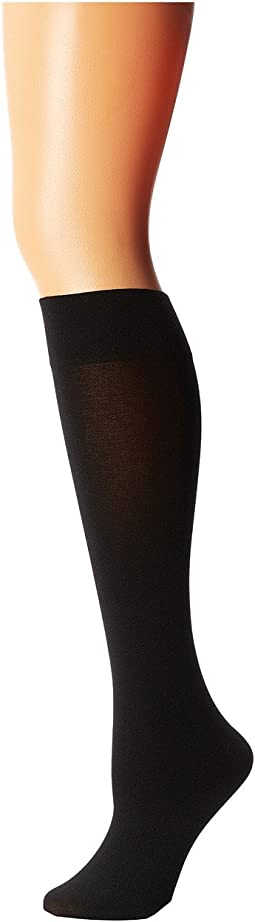 Cotton Velvet Knee-Highs