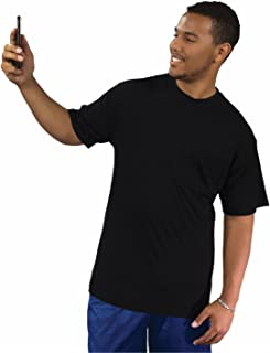 Big Boy Bamboo Tall Crew Neck T-Shirt with Pocket for Men - Tall Short Sleeve Pocket Tee, Made of Ultra-Soft Bamboo