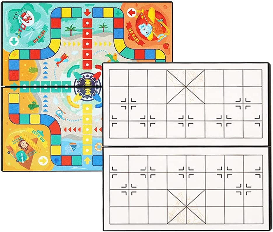 Elegant LOFAMI 2 in 1 Ludo Board San Diego Mall Game Ladders,Multifunction and Snakes