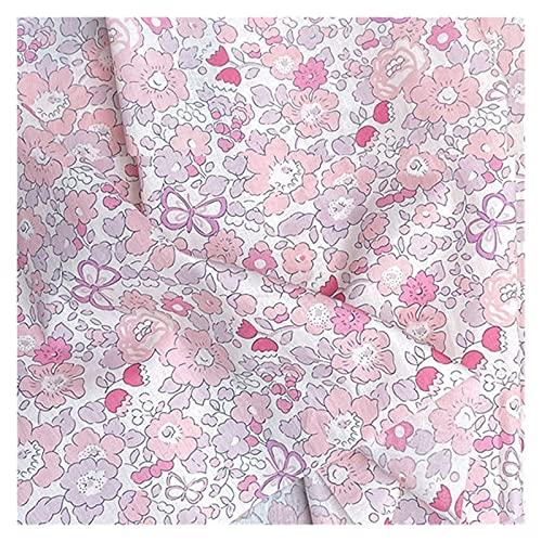 WanXingY 145x100cm mögen Freiheit frühling Sommer Baumwolle Popeline nähen Stoff Machen Frauen tragen Kleid Kinder Kleidung Hause Kleidung Tuch (Farbe : 2)