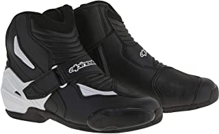 Alpinestars SMX-1 R Boots (43) (Black/White)
