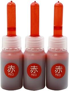 シヤチハタ 乾きまペン 補充インキ 赤 KR-NDアカ 00000723【まとめ買い10個セット】