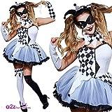 Rubie's 810993 Déguisement de Cirque Officiel Jesterlla pour Femme, Taille M