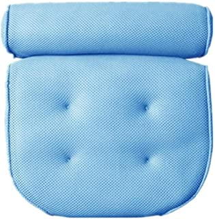 YXHMdd Bathtub Pillow with 4 Suction Cups and Bath Pillow Suitable for Home Use Spa Headrest