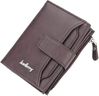 Baellery Multi-Function Stylish Artificial Leather Wallet (Coffee (D3218))