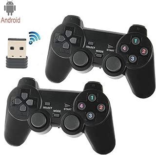 C-Zone 2.4GHz USB Twins Wireless game Controller Gamepad Joystick With WIN98/2000/X/2003VISTA/WIN7 SYSTEM TV Box