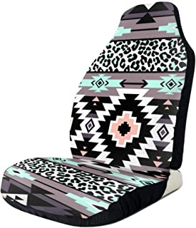 DmiGo Native American Patterns5 Front Seat Covers Car Seat Covers Front Seats Only Universal Fit