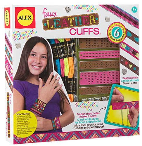 Alex Toys Diy Wear - 1721 - Manchettes Faux-cuir A Tisser