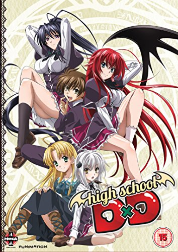High School Dxd: Complete Series Collection [DVD] [UK Import]
