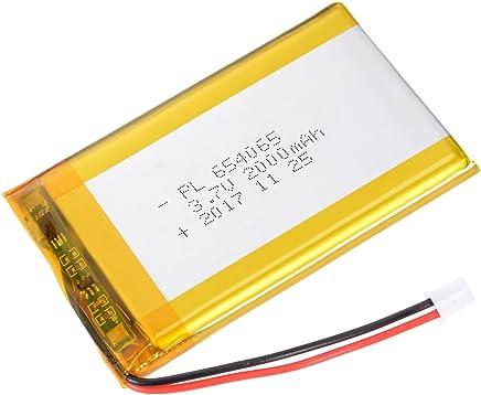 sourcing map Alimentatore DC 3.7V 5000mAh 6256105 Li-Ion Ricaricabile ai polimeri Litio Batteria Li-Po