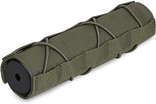 KRYDEX Tactical Airsoft Suppressor Cover 7 inch/18cm