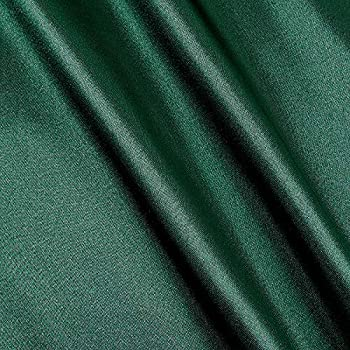 Richland Textiles Poly Charmeuse Satin Green Fabric Hunter Fabric by the yard