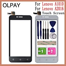 KINGCOM-Mobile Phone Touch Panel - Touch Glass For Lenovo A Plus A1010 A 1010 A1010a20 Touch Screen For Lenovo Vibe B A2016 A40 Sensor Digitizer Panel TouchScreen (Black No Tools)