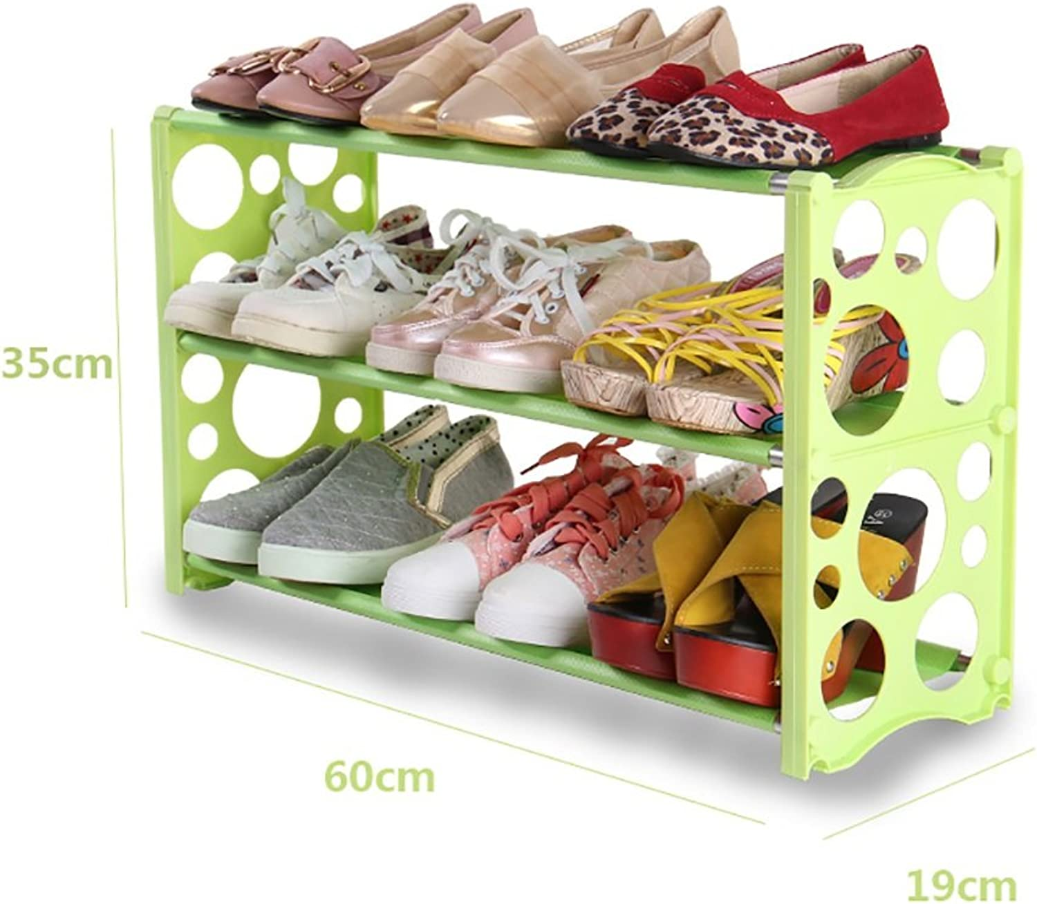 HHQ shoes Racks Multi-Layer Simple Assembly Economical Home Storage Dormitory Bedroom Space-Saving Function Modern Simple shoes Cabinet (color   A-1)