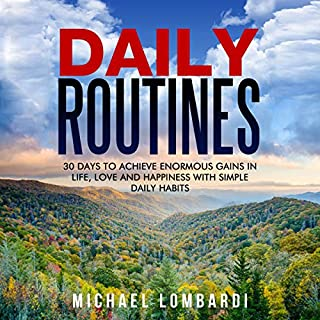 Daily Routines audiobook cover art